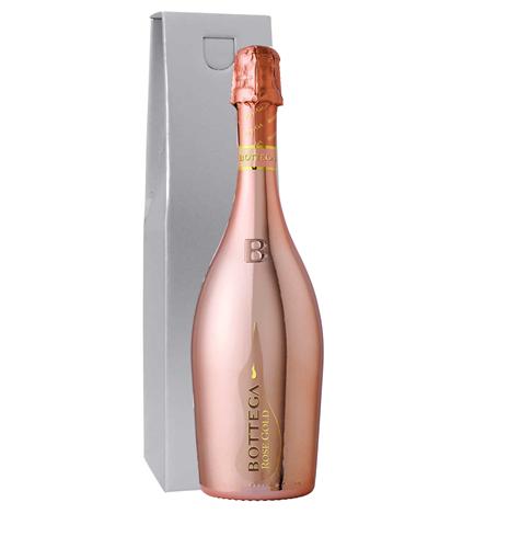 Botegga Rose Gold Prosecco Gift Box