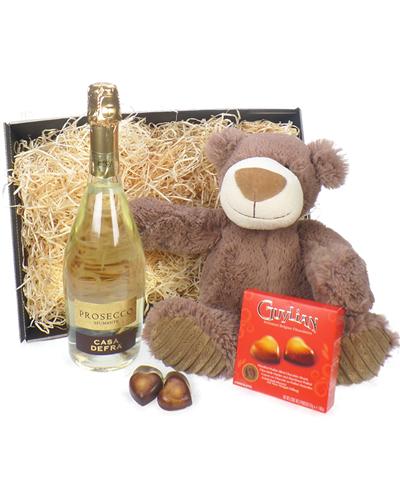 Bubbly Bear And Chocolates