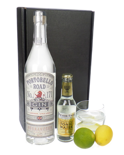Portobello Road Gin And Tonic Gift Set
