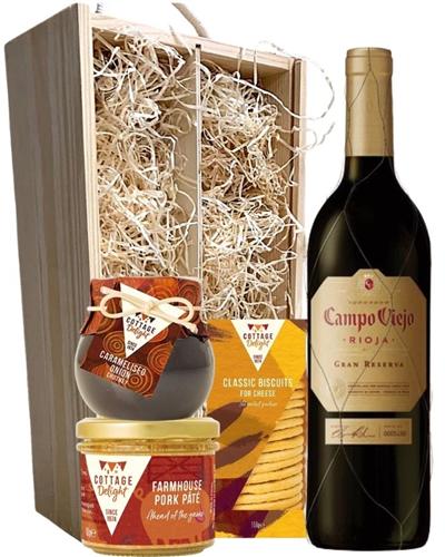 Campo Viejo Gran Reserva Wine & Gourmet Food Gift Box