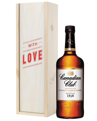Canadian Club Whisky Valentines Day Gift