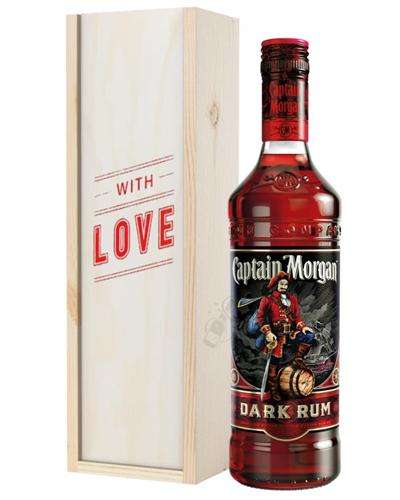 Captain Morgan Rum Valentines Day Gift