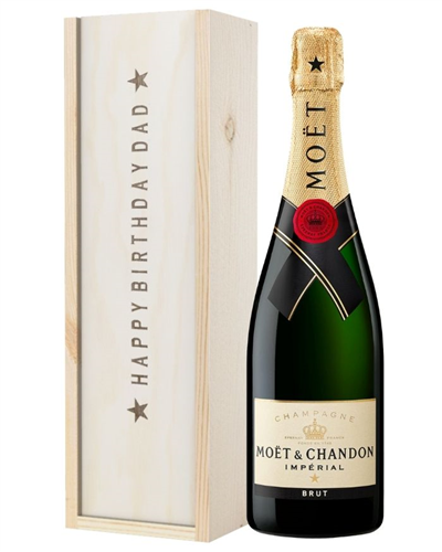 Champagne Birthday Gift For Dad