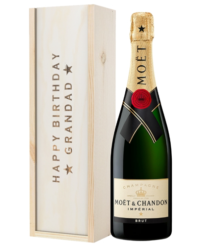 Champagne Birthday Gift For Grandad