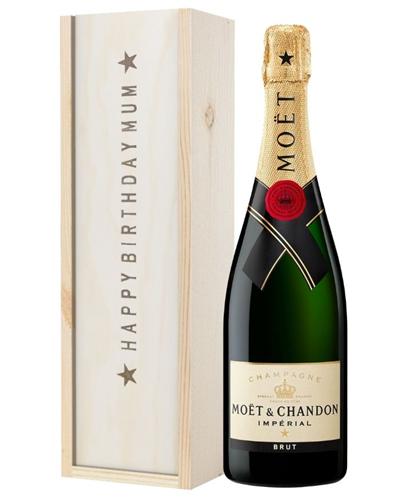 Champagne Birthday Gift For Mum