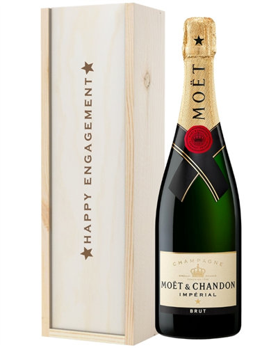 Champagne Engagement Gift