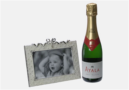 Champagne Silver Frame Gift
