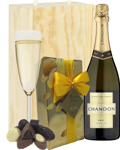 Chandon Sparkling Wine And Belgian Chocolates