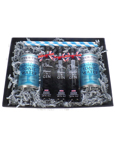 Chase Elegant Miniatures And Tonic Gift Set