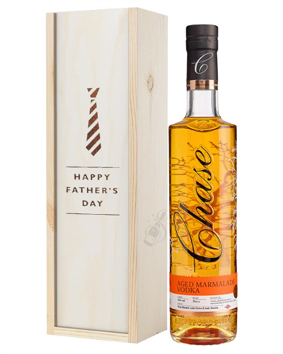 Chase Marmalade Vodka Fathers Day Gift In Wooden Box