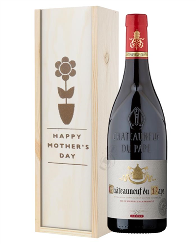 Chateauneuf Du Pape Red Wine Mothers Day Gift