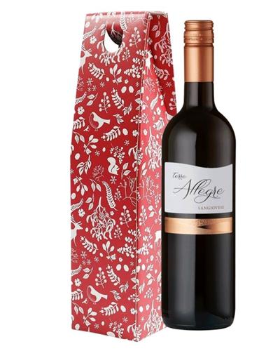 Christmas Italian Sangiovese Wine Gift