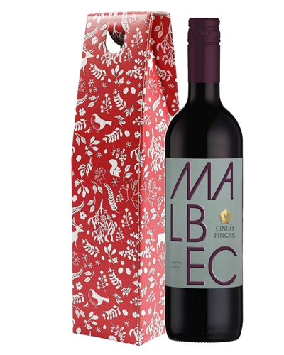 Christmas Malbec Wine Gift from Argentina