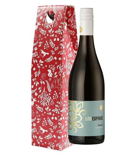 Christmas Merlot Red Wine Gift