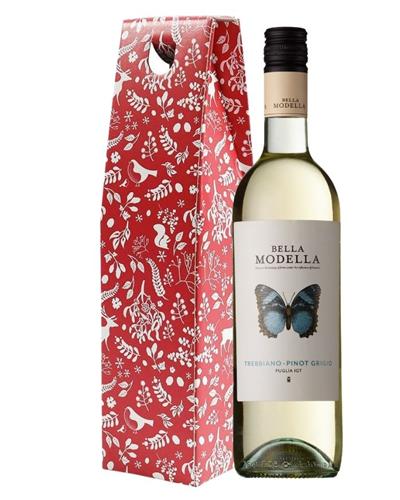 Christmas Pinot Grigio Wine Gift