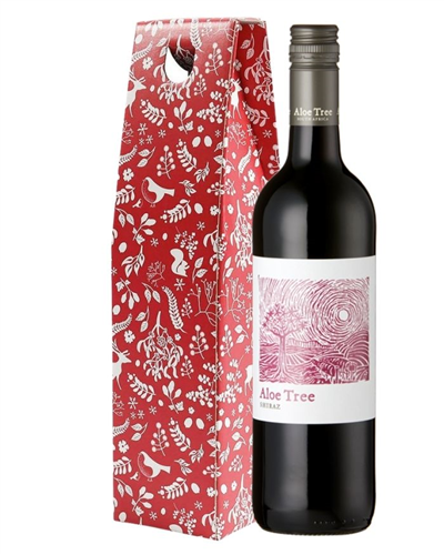 Christmas South African Shiraz Red Wine Gift