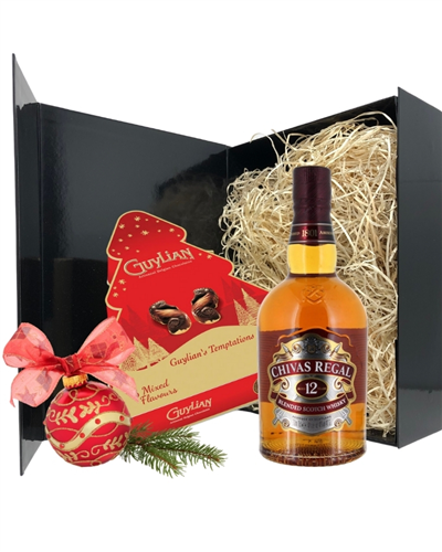 Christmas Whisky And Chocolates