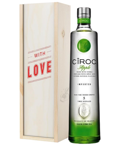 Ciroc Apple Vodka Valentines Day Gift