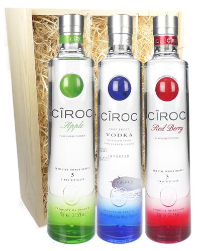 Ciroc Vodka Triple Gift Set