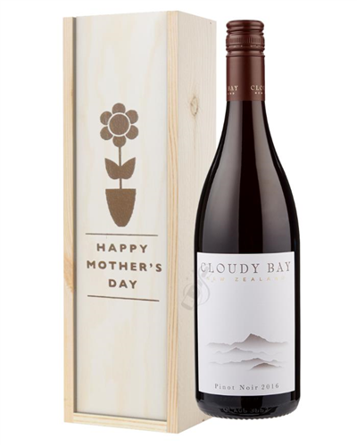 Cloudy Bay Pinot Noir Red Wine Mothers Day Gift