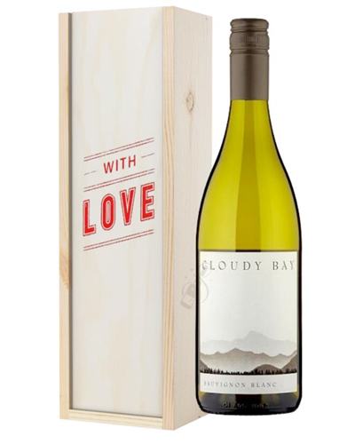 Cloudy Bay Sauvignon Blanc White Wine Valentines With Love Special Gift Box