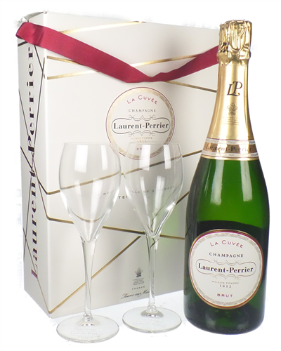 Laurent Perrier Branded Flute Set
