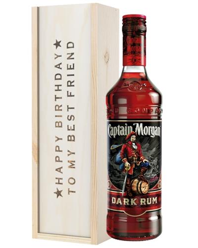 Dark Rum Birthday Gift For Best Friend