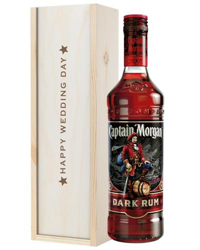 Dark Rum Wedding Gift