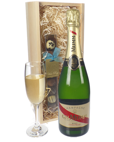 Mumm Champagne and Chocolates Gift Set