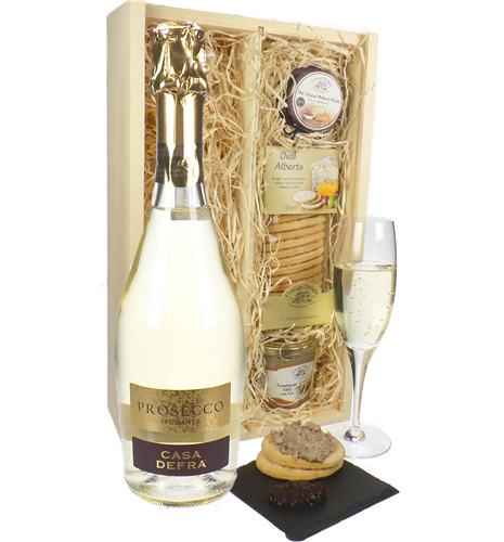 Prosecco Sparkling Wine And Pate Gift
