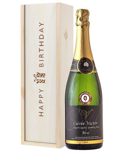 English Sparkling Wine Birthday Gift