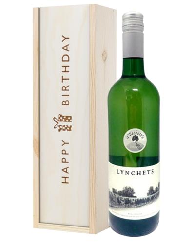 English White Wine Birthday Gift