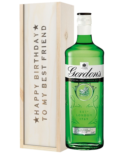 Gin Birthday Gift For Best Friend