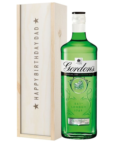 Gin Birthday Gift For Dad
