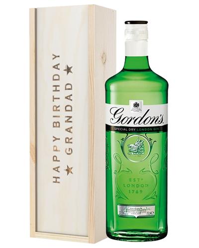 Gin Birthday Gift For Grandad