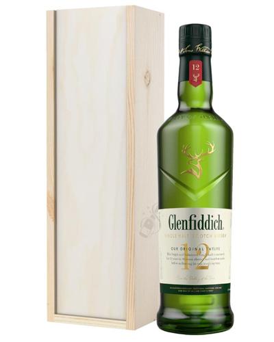 Glenfiddich 12 Year Old Highland Single Malt Scotch Whisky Gift