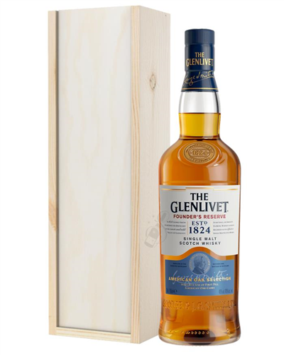 Glenlivet Founders Reserve Single Malt Scotch Whisky Gift
