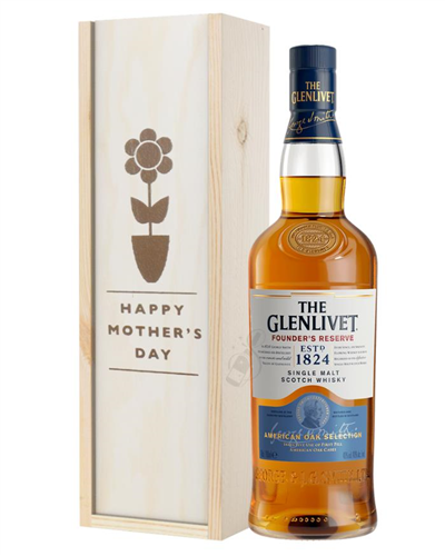 Glenlivet Founders Reserve Single Malt Whisky Mothers Day Gift