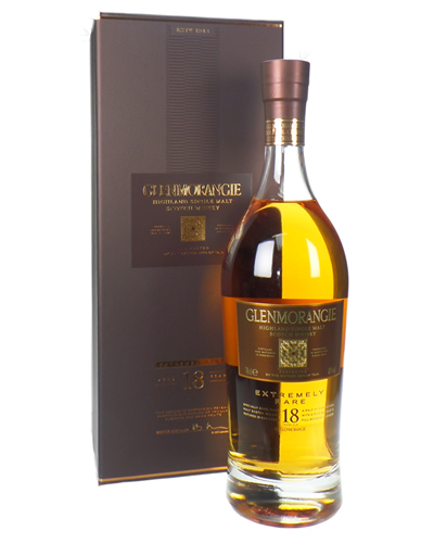 Glenmorangie 18 Year Old Single Malt Scotch Whisky Gift Box