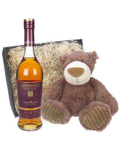 Glenmorangie LaSanta and Teddy Bear Gift Basket