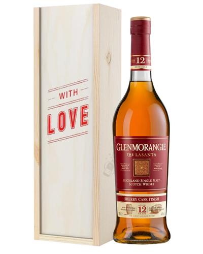 Glenmorangie Lasanta Single Malt Whisky Valentines Day Gift
