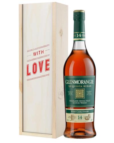 Glenmorangie Quinta Ruban Malt Whisky Valentines Day Gift