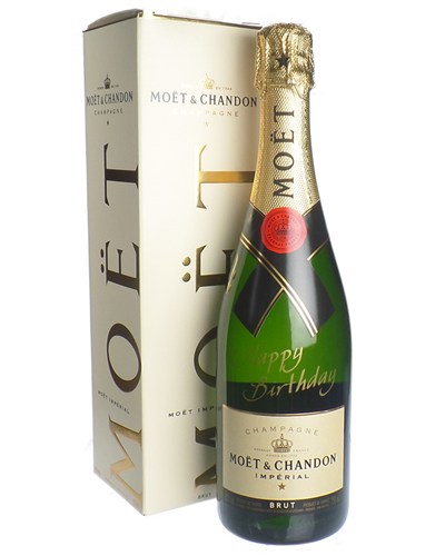 Happy Birthday Moet Champagne Gift Box