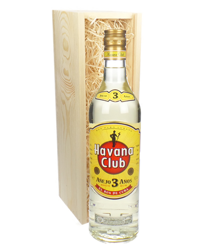 Havana Club 3 Year Old White Rum Gift