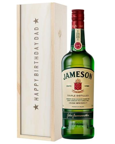 Irish Whiskey Birthday Gift For Dad