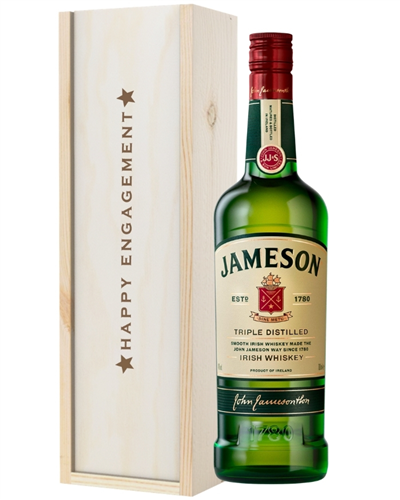 Irish Whiskey Engagement Gift