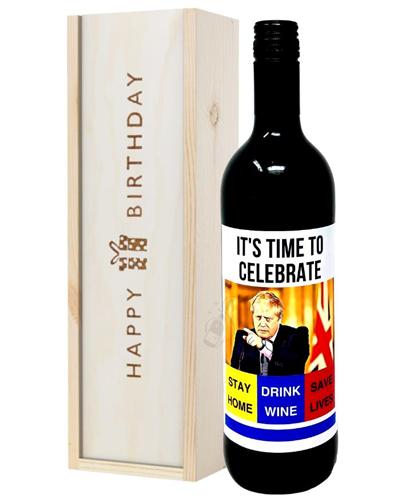 Isolation Red Wine Birthday Gift