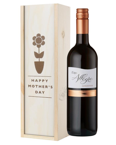 Italian Sangiovese Red Wine Mothers Day Gift
