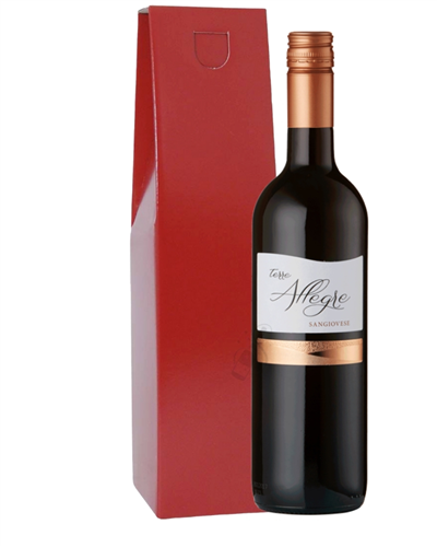 Italian Sangiovese Wine Gift Box