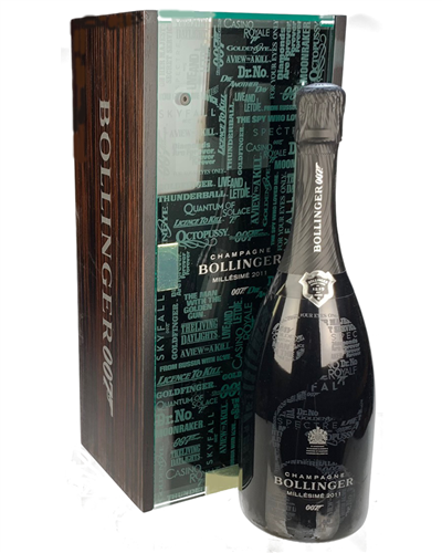 James Bond 007 Bollinger Millesime 2011 Champagne Gift
